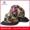 custom promotional hot funny digital printing hat/wholesale embroidery plain hip hop snapback 5 panel hat with metal logo
