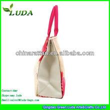Korean version of the new handbag canvas shoulder portable printing thick canvas bag