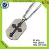 High Quality Metal Cross dog tag