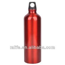 Alta calidad de aluminio red bull botella de agua