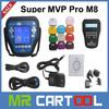 100% Original Professional New Arrivals MVP Key Pro M8 Auto Key Programmer M8 Diagnosis Locksmith Tool MVP Pro M8 Key Programmer