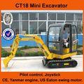 China mini excavadora sobre orugas para la venta, nuevo 2014 pequeñas excavadoras para la venta de las mini excavadoras