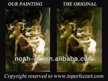 Bouguereau beautiful nude women angel oil painting