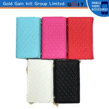 Leather Handbag Case for Samsung S3 Hangbag Leather Case Cover