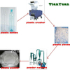 Hot selling pet plastic bottle recycling machine