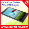 Ulefone U7 Phablet MTK6592 Octa Core 7.0 Inch 2K Touch Screen GPS tablet phone