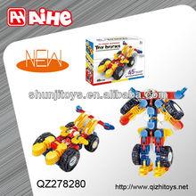 Wholesale product new deformed 3d building blocks enlighten toys