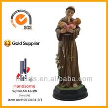 12'', padre e figlio statua, San Antonio de padova, St Antonio