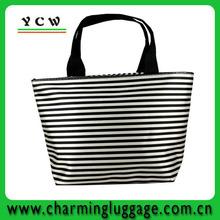 stripe bag /stripe beach bag /striped shopping bag