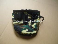Drawstring Dog Treat Bag with Belt Clip ,Dog Treat Pouch,Pet Treat Bag