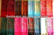 Hot sale Evening large pashmina shawls for ladies wholesale