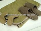 Luxury and confortable polyester fleece travel blanket kit