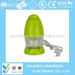 Mini electric food chopper/blender/mixer