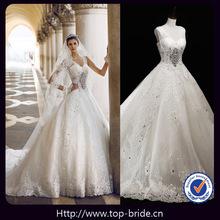 S21442 Top Bride Venice Real Photo Luxury Beaded Wedding Dresses In Dubai