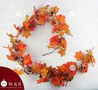 6 ft. Autumn Harvest Pumpkin and leaves Artificial Garlands