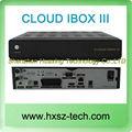 Cloud 2014 ibox 3 twincouverture enigma 2 linuxle décodeur hd nuage ibox3 récepteur double tuner dvb-s/s2+t2/c nuage ibox iii. samsat hd décodeur