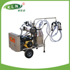 Gasoline engine and electric vacuum pump milk sucking machine