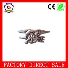 plastic magnetic reusable name badge,hyundai car emblem badge,custom metal pilot wings pin badge(HH-badge-031)
