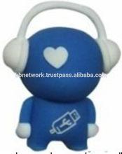 PVC Rubber Cartoon Musician USB, Flash Drive, Thumb Drive, 1GB, 2GB, 4GB, 8Gb, 16GB, 32 GB, 64 GB