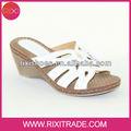 branco italiano sapatos moda feminina sandálias de verão 2014