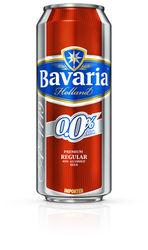 BAVARIA 0.0% NON ALCOHOLIC BEER 500ML X 24 TINS PER CASE