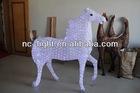 3D LED christmas acrylic horse motif light