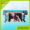 China multicolor1440dpi Dx5 1.6m solvent inkjet printer vinyl cutter with CE and SGS
