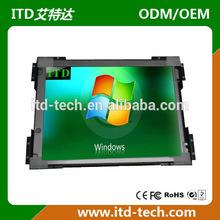 """12.1"""" sunlight readable lcd monitor 1000nits/1500nits VGA,DVI,HDMI inputs or SD/USB"""