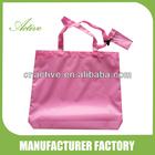 Plain colour folding shopping bag