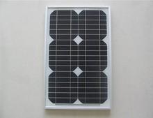 mini mono 15 W photovoaltic solar panel for home use