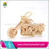 Hot sale motorcycle wholesale toy from china hot 3D educational puzzle