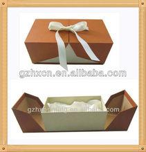 luxury jewelry gift paepr open box with satin