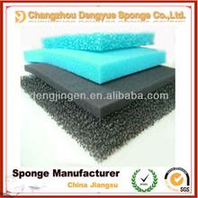 2014 New hot sale bio open cell air water dust aquarium filter foam sponge