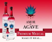 Mezcal Premium Amor de Agave.