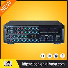 Class D Amplifier 500watts Professional Digital Power Karaoke Mixer Amplifier