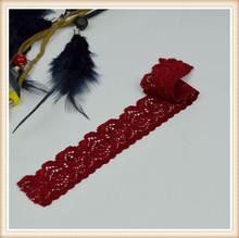 wedding elegant dark red new border design saree for clothes decotation