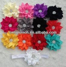 baby headband lotus flower headband infant headband