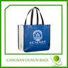 Colorful laminate recycling pet shop bag
