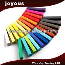 Non-toxic various intense colors hair dye for hair dying,Joyous temporary hair color dye AHCD2401 calcium carbonate hair dye