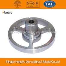 Custom aluminum flywheel casting
