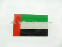 uae flag national metal epoxy factory national flag pin badges