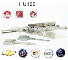 Cadillac car key reader/ lock decoder 2 in 1 tool HU100