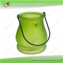 colorfu glass candle holder