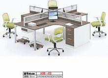 2014 Modern Open Space Melamine Workstation Cluster A06-02