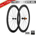 2014 XBIKE alta rigidez de la bici del camino 700c ruedas de fibra de carbono
