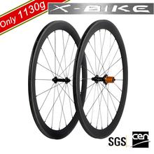 2014 XBIKE high stiffness road bike wheel 700c carbon fiber wheels