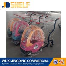 plastic car model baby trolley toy