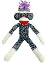 soft stuffed monkey toy knit pattern
