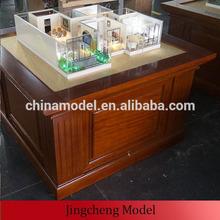 Customed building model / plastic building model