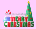 árbol inflable de Navidad de poliéster alto de 180cm/6ft
